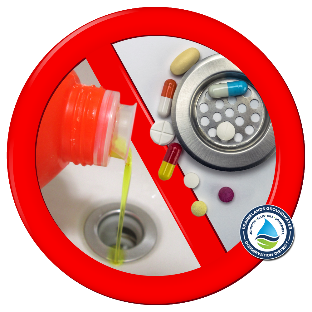 Do not pour chemicals or medications down the drain
